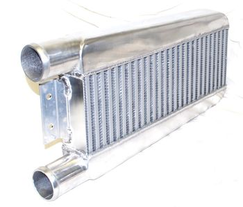 """RB20DET Intercooler 24""""X11""""X3"""" 2.5"""" Inlet & Outlet One Side for240SX S13 S14"""
