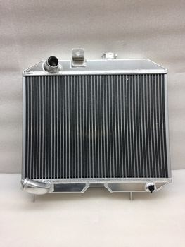 41-52 Jeep Willys M38 CJ-2A CJ-3A MB L4 L6 MT Aluminum Radiator 3 Row Core GPW