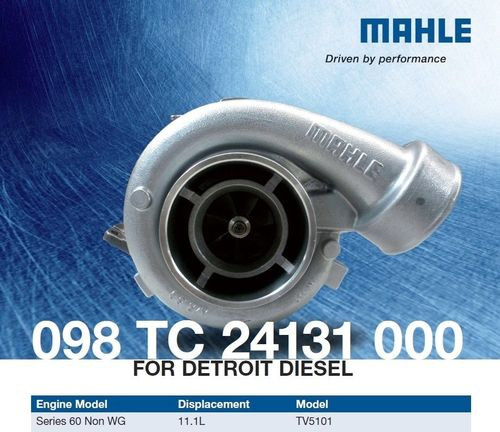 MAHLE 098 TC 24131 000 Turbo for Non-wastegated 95-04 Detroit Diesel 60  8929435