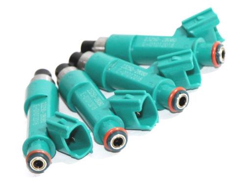 4 Pcs OEM Fuel Injector 23250-28080 For Toyota Corolla Camry Rav4 Solara  2.4L
