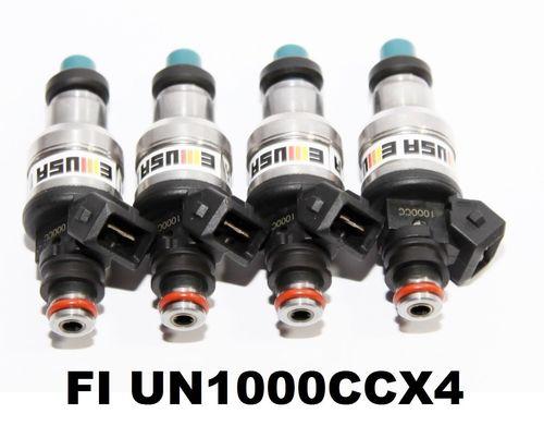 1000CC 1set(4)Fuel Injector for92-96 Honda B16 B18 B20 D16 D18 F22 H22 H22A  VTEC