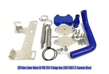 EGR Valve Cooler Delete Kit Fits 2010-14 Dodge Ram 2500 3500 6.7L Cummins Diesel