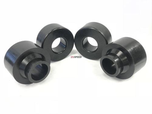 """Front Rear 2.5/"""" Leveling Lift Kit Coil Spring Black For 99-04 Grand Cherokee WJ"""