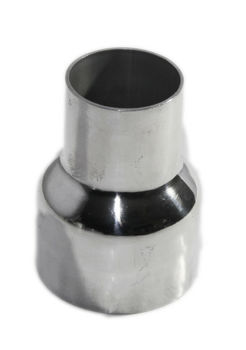 Universal Piping Aluminum Exhaust Reducer 2 quot; O.D. to 3 quot; O.D. 3.9 quot; Length