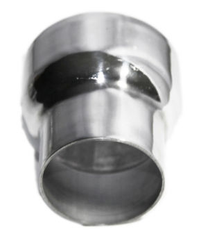 """Universal Piping Aluminum Exhaust Reducer  4"""" O.D. to 3"""" O.D. 3.9"""" Length"""