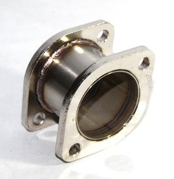 "Catback Exhaust Muffler Pipe 2.9"" Extension Flange Steel Adapter 3"" 2Bolt Flange"