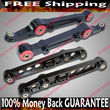 BLACK Front amp; Rear Lower Control Arms  92-95 Civic/94-01 Integra/93-97 Del Sol