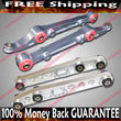 SILVER Front amp; Rear Lower Control Arms  92-95 Civic/94-01 Integra/93-97 Del Sol