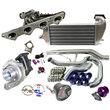 New Brand 95-99 Mitsubishi Eclipse T3/T4 Turbo Kit DSM 2G 4G63 Engine