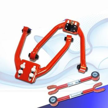 03up Infiniti G35   RED Front and Rear Camber Suspension