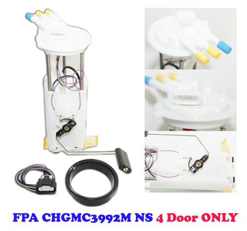 Fuel Pump Assembly with Pressure Sensor for Chevrolet Blazer 1998-2005 GMC Jimmy 1998-2004 Oldsmobile Bravada 1998-2001