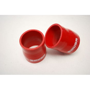 Silicone reducer hose 2.25 quot;-2.5 quot; straight COUPLER red
