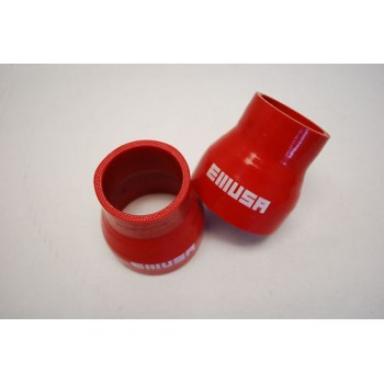 """Silicone reducer hose 2""""-2.75"""" straight COUPLER red"""