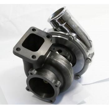Chrome GT35 GT3582 Turbo Turbocharger Compressor 0.70 A/R Quick Spooling 4Bolt Flange