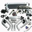 BMW 323IS 325IS 328IS E36 E46 M50 T04E T3/T4C Turbo Kit With Precision Turbocharger(17pcs)