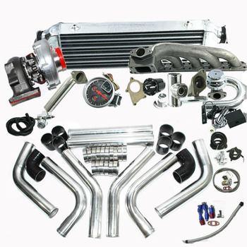 EMUSA Turbo  BMW 323IS 325IS 328IS E36 E46 M50 T04E T3/T4C Turbo Kit (17pcs)