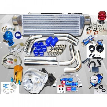 Universal GT35 Turbo Kits 0.70A/R  Quick Spooling