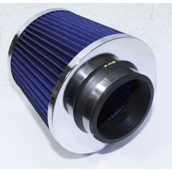 3 quot; Cold Air Intake Filter Turbo Application Universal Blue