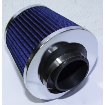 2.5 quot; Cold Air Intake Filter Turbo Application Universal Blue