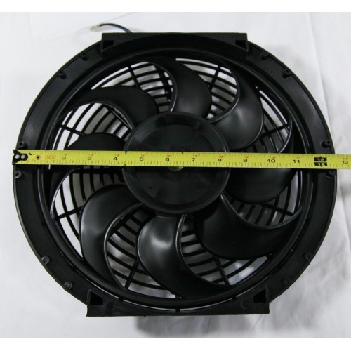 12 Quot Universal Radiator Fan With Mounting Kit