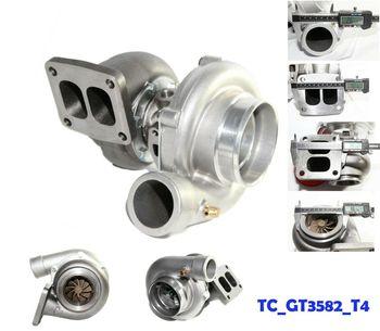 GT35 GT3582 Turbo Turbocharger Turbine 0.63 A/R Quick Spooling T3 Flange