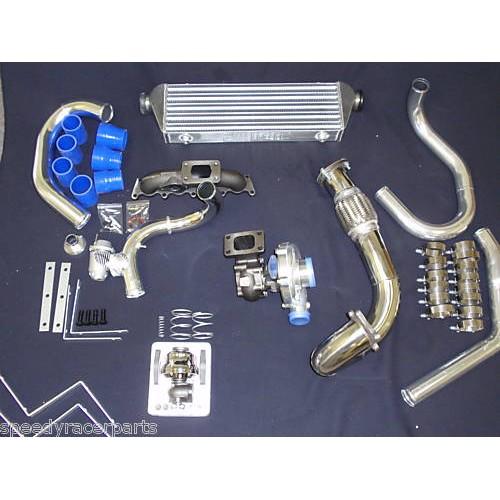 1999 2000 2001 2002 2003 2004 2005 VW Jetta Gti 1 8LTurbo Kit T3/T4 with  Downpipe