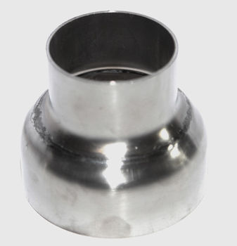 """Turbo Outlet Inlet Manifold Downpipe Piping Reducer 2"""" to 3"""" Stainless Steel"""