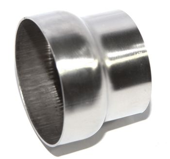 """Universal Piping Reducer 2.5"""" to 3"""" SS Exhaust"""