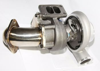 """Dodge TURBO CHARGER CUMMINS Holset HX35W NEW T3 Flang Hot Side 3"""" Exhaust V-band Outlet"""