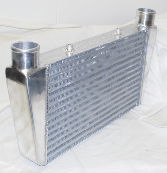 """Universal INTERCOOLER 24*11*3"""" 2.5"""" INLET AND OUTLET ONE SIDE"""
