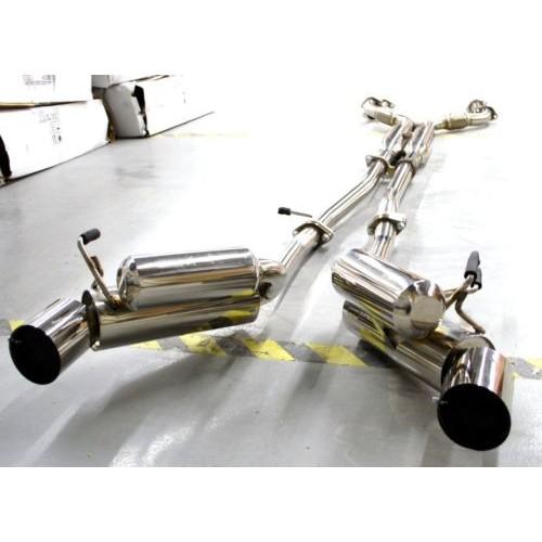 Infiniti G35 Horsepower >> Direct Bolt On 2003-2007 Nissan 350Z G35 Z33 Catback ...