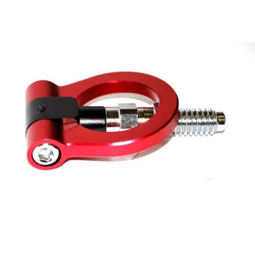 BMW Euro Racing Style Front Aluminum Tow Hook Red 325i