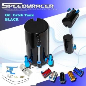 Universal Oil Catch Tank Black