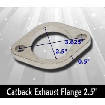 """Exhaust Flange 2.5"""" CATBACK EXHAUST WELDABLE FLANGE"""