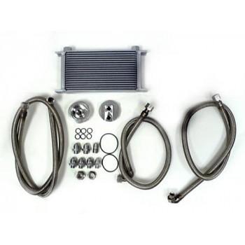 Universal High Performance Aluminum Oil Cooler Kit
